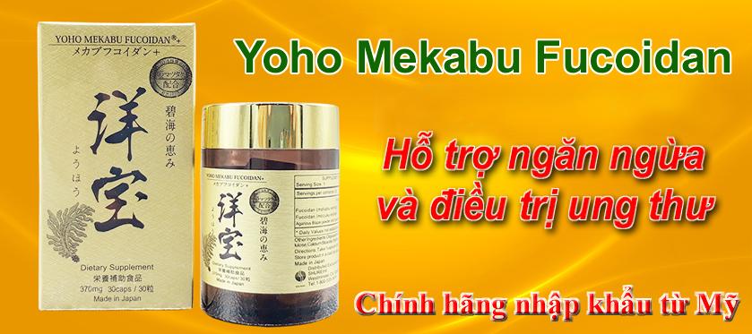 Yoho Mekabu Fucoidan đã có mặt tại Việt Nam